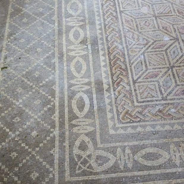 Mosaics at the Arceological Park