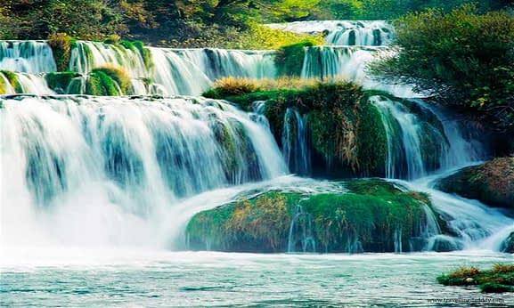 The Krka Waterfalls