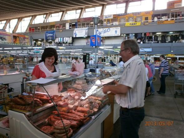 Byuing Sausage, Kiev style.
