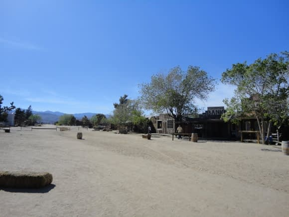 Pioneertown - just a dusty old tourist-trap