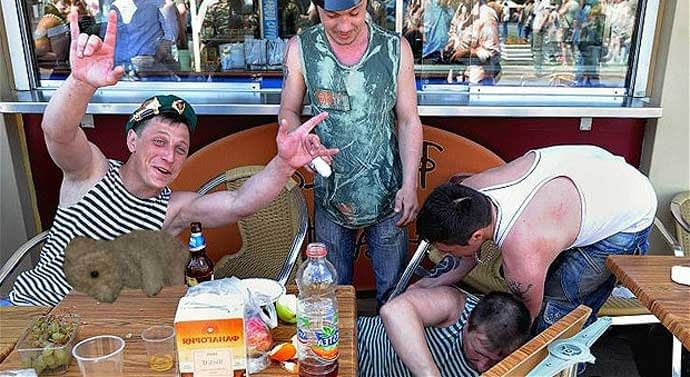Russians on Holiday