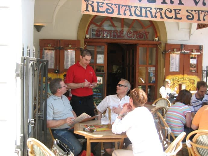 The Restaurants of Prague are the city's pulse