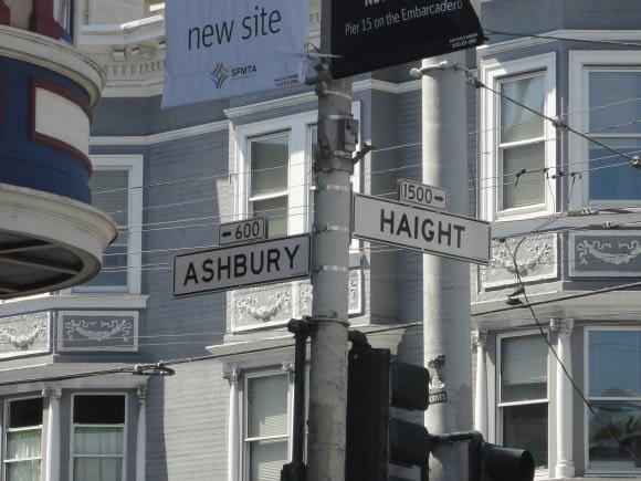 Haight Ashbury - 45 years too late but......