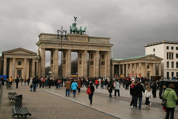 Brandenburger Tor is a very popular site to visit.