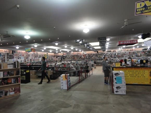 That is one hell of a Record shop