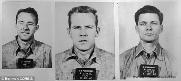 The escapees of Alcatraz