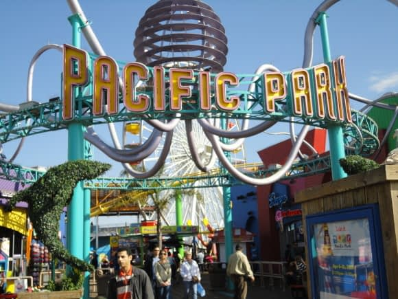 The Pacific Park -- for Amusement