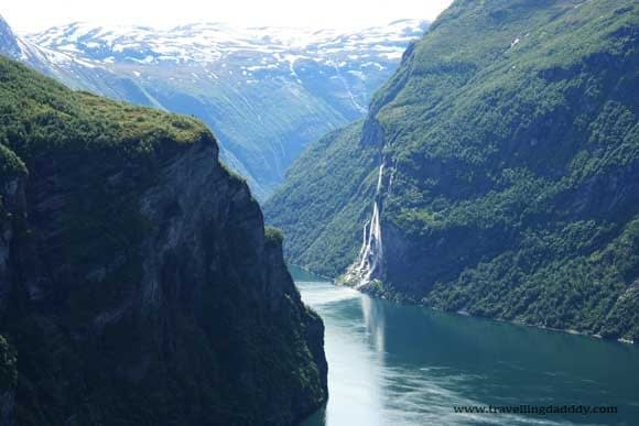 The Geirange Fjord and the Seven Sisters Waterfalls