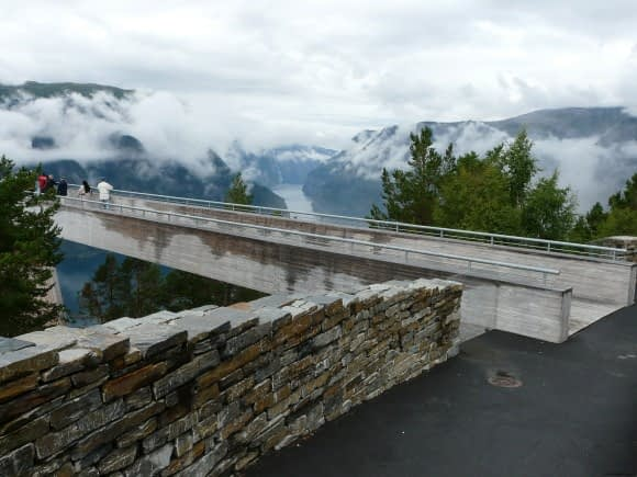 The Stegastein Viewing Platform    photo: G. Lanting/ Creative Commons