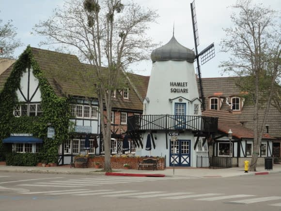 Trying to look like Denmark - Solvang, California
