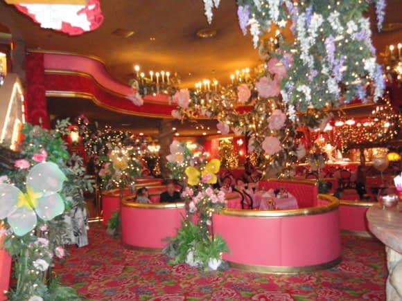 The Reception at the Madonna Inn