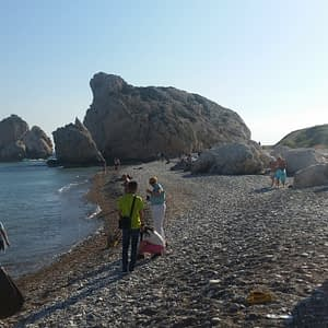 Aphrodite's Rock at Petra tou Romiou